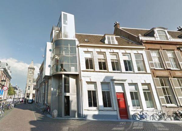 Het stalen huis in de Utrechtse binnenstad