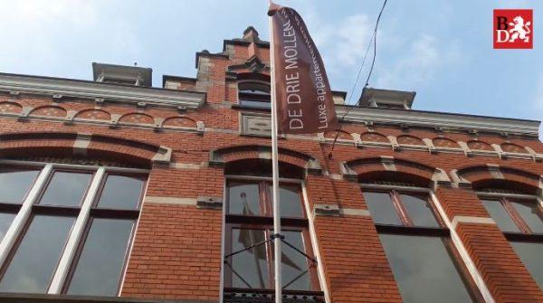 Rijksmonument Koffiebranderij 'De Drie Mollen' in Den Bosch