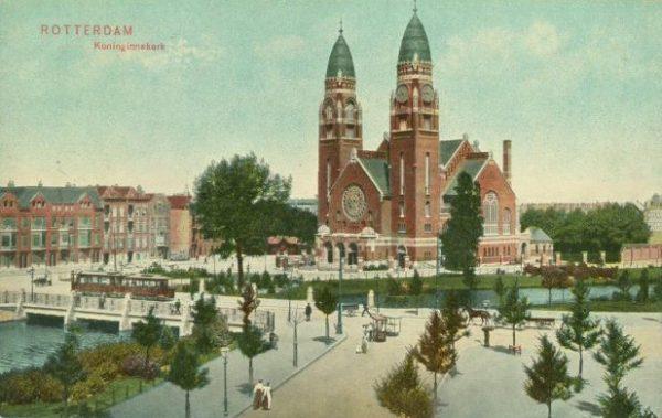 Koninginnekerk (1904-1971) in Rotterdam, in 2013 verkozen tot 'mooiste gesloopte kerk' van Nederland