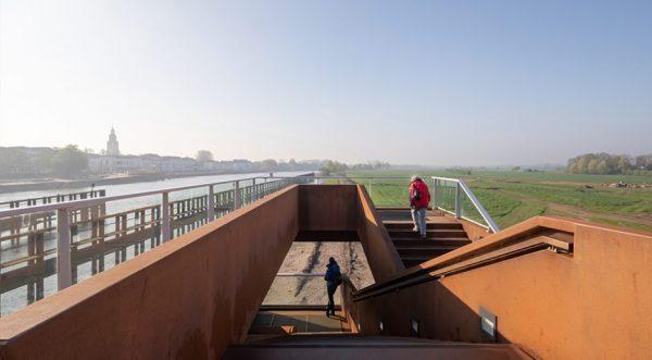 De Oude IJsselbrug in Zutphen, ontwerp gemaakt door MoederscheimMoonen Architects