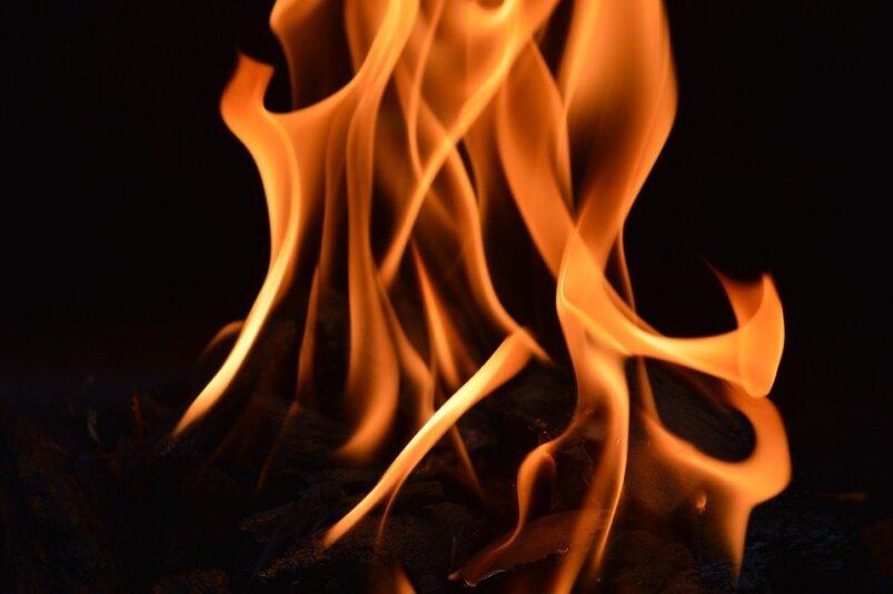 Referentiebeeld: vuur
