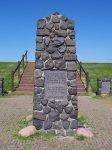 Monument dat herdenkt aan de rampvloot van Paesens-Moddergat uit 1883