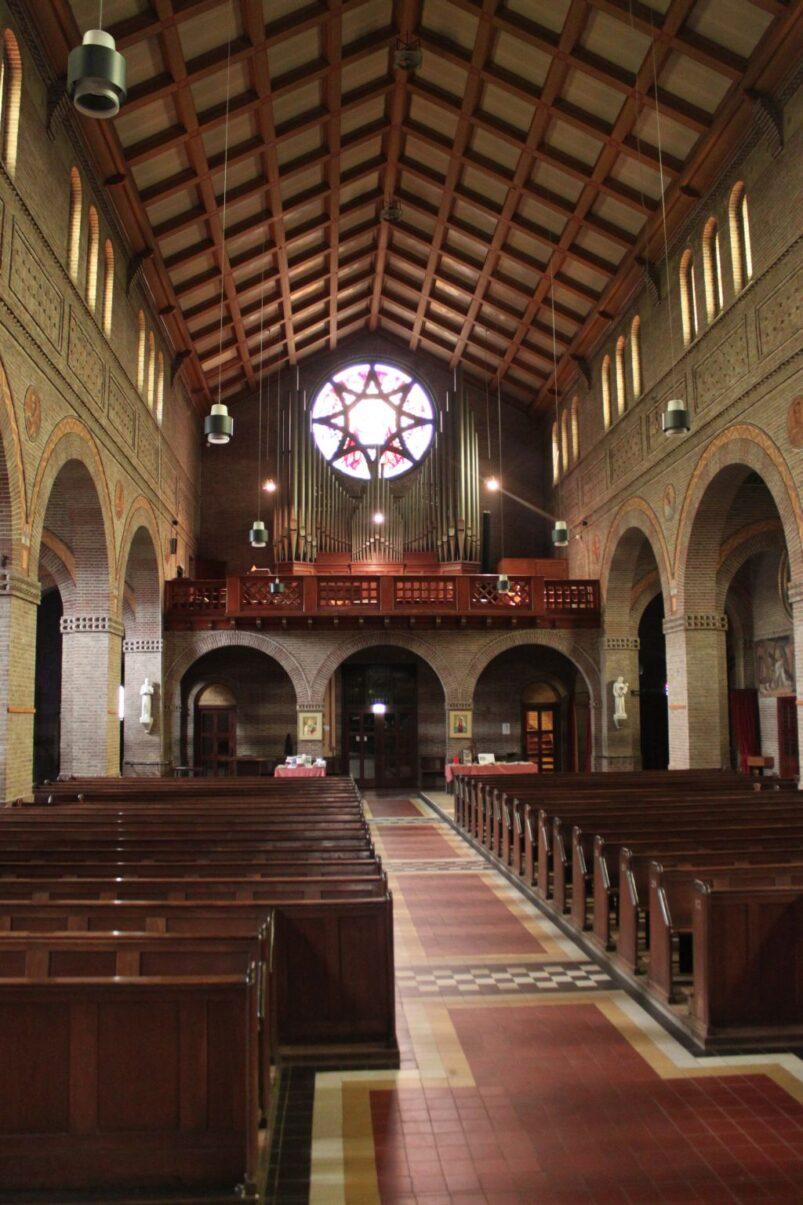 Interieur Mariakerk in Enschede (2014)