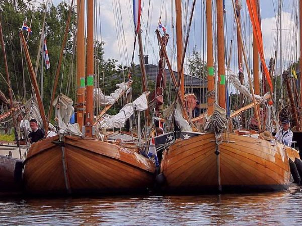 Historische schepen in Friesland