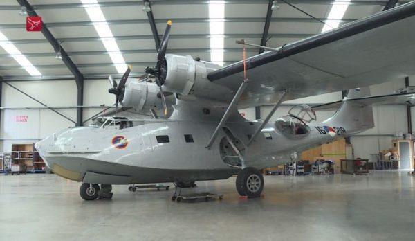De Consolidated Catalina PH-PBY uit 1942