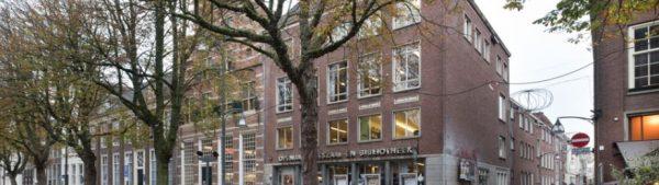 De voormalige bibliotheek aan de Brink in Deventer
