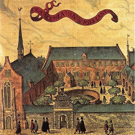 Pieter Feddes van Harlingen (1586 - circa 1623), De academia van Vrieslant