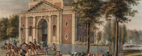 De Muiderpoort in Amsterdam