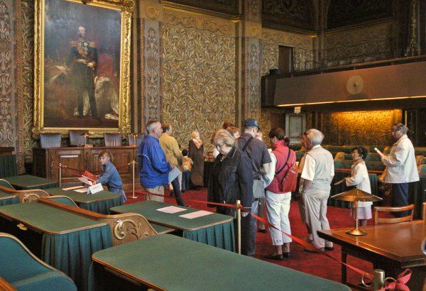 Eerste Kamer, Den Haag