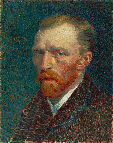 Zelfportret Vincent van Gogh (1886-1887)