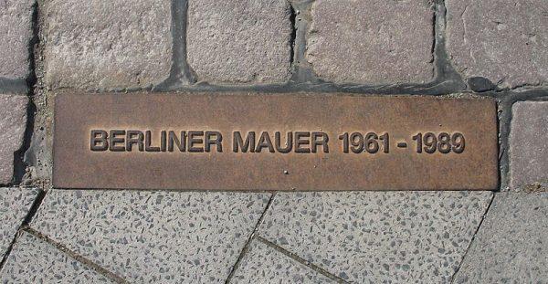 Referentiebeeld: Berlijnse Muur