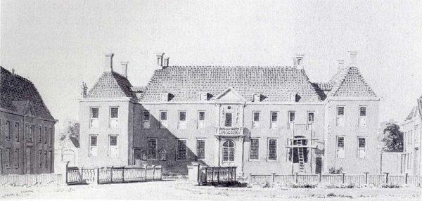 Havezate Batinge in Dwingeloo in 1732