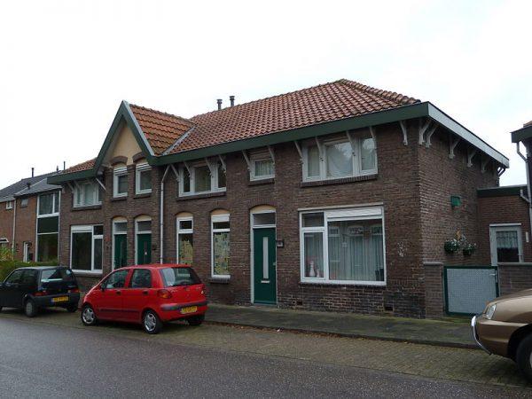 Arbeiderswoningen in de Nuinhofwijk in Nuth
