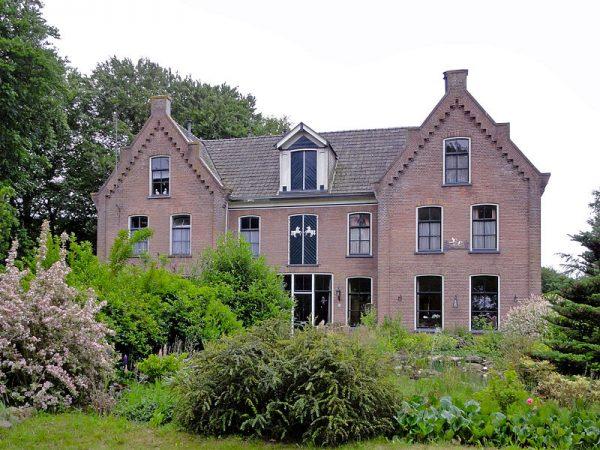 De vroegere mandenmakerij in Wilhelminaoord