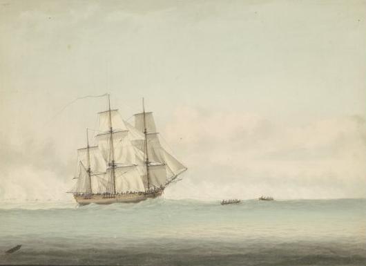 De HMS Endeavour