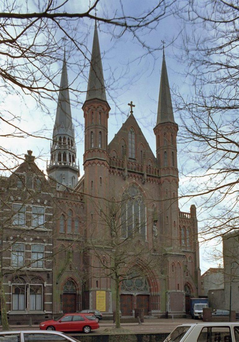 De monumentale Gouwekerk in Gouda