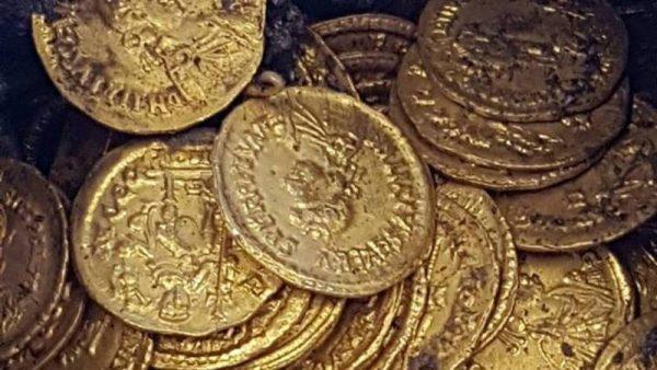 Romeinse gouden munten