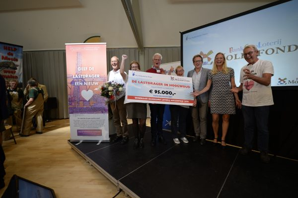 De winnaar van de BankGiro Loterij Molenprijs 2018: De Lastdrager