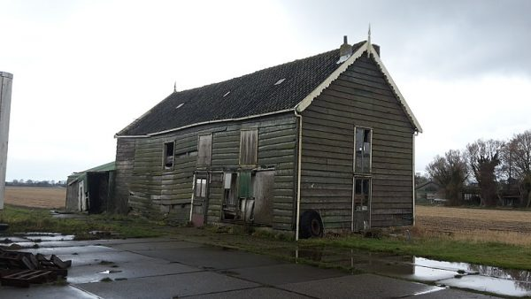 Bollenschuur De Hartenbaan in Hillegom (januari 2018)