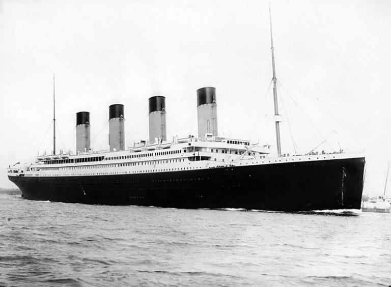 De Titanic in 1912
