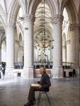 Henk Helmantel in de Grote Kerk in Dordrecht