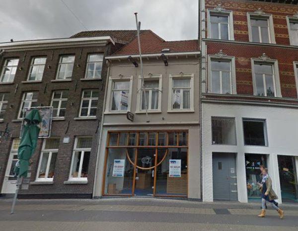 Het rijksmonument aan de Parade 26 in Venlo in 2017