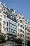Het door Le Corbusier ontworpen gebouw in Parijs