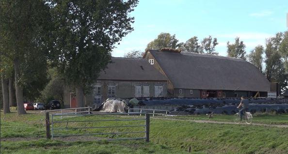De rijksmonumentale boerderij Mariënhof in Westmaas