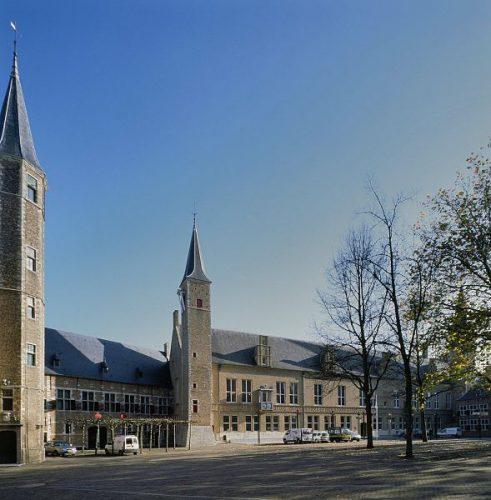 Het Provinciehuis van Zeeland in Middelburg