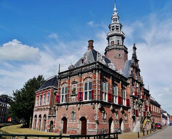 Het Stadhuis van Bolsward