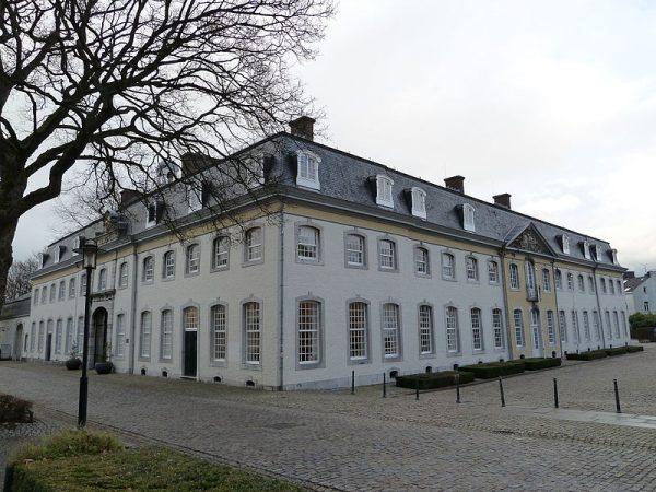 Het rijksmonumentale gemeentehuis van Vaals