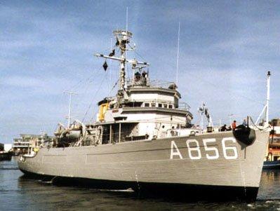 Het torpedowerkschip Hr.Ms. Mercuur