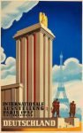Affiche Duits Paviljoen, Wereldtentoonstelling Parijs, 1937