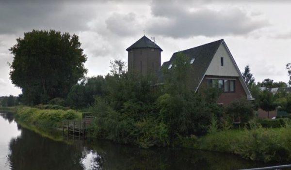 De romp van de Molen van Reudink in Lochem