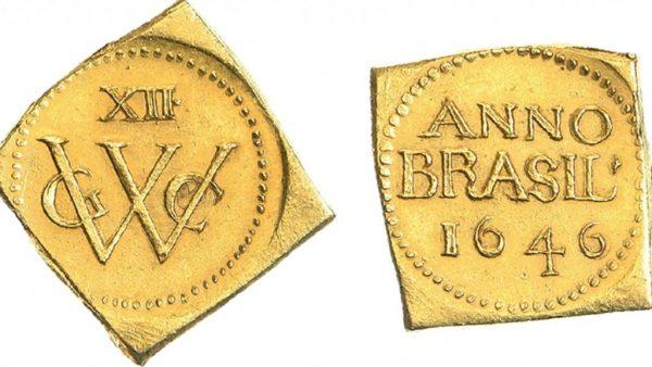 De gouden 12 guldenmunt