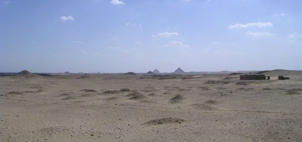 De necropolis Saqqara in Egypte