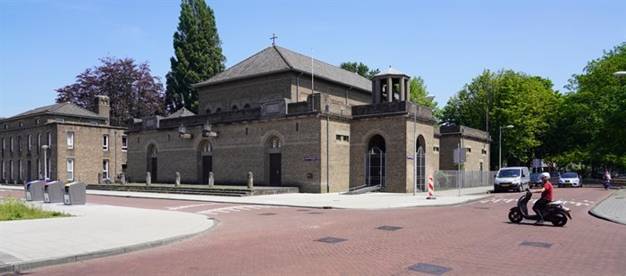 Het Catharinacomplex in Amsterdam Nieuw-West