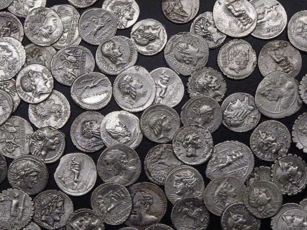 Referentiebeeld: Romeinse munten