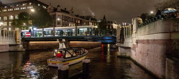 De Leidsebrug in Amsterdam
