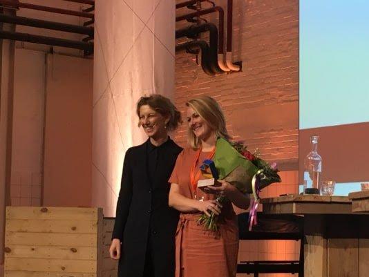 Welmoed Wijmans wint Prijs Jong MonumentenTalent 2018