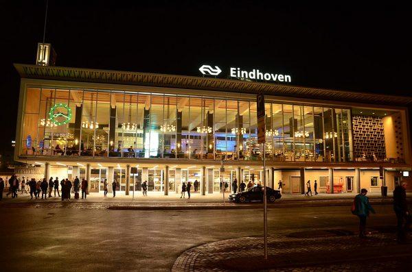 Het nieuwe station Eindhoven