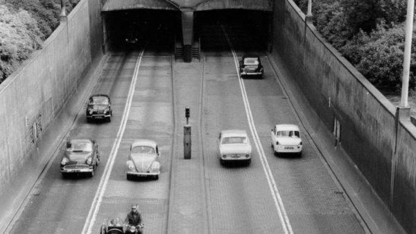 De Maastunnel in Rotterdam