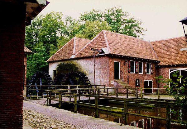 De watermolen van Landgoed Singraven