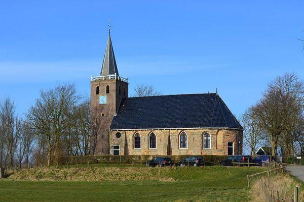 De Nicolaaskerk in Schalsum