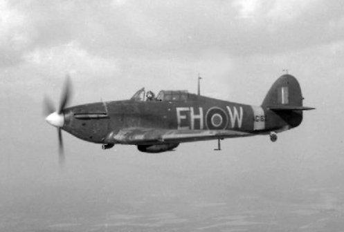 Referentiebeeld: een Canadees vliegtuig tijdens de Tweede Wereldoorlog
