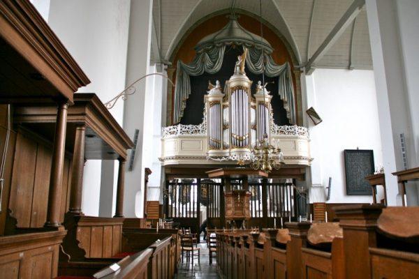 Bätzorgel in Pieterskerk Breukelen