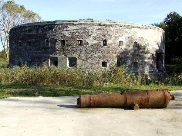 Fort Uitermeer, onderdeel van de Nieuwe Hollandse Waterlinie