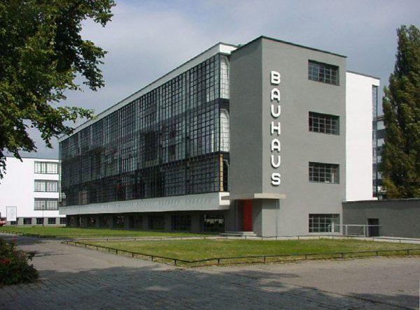 Het Bauhaus in Dessau, Duitsland