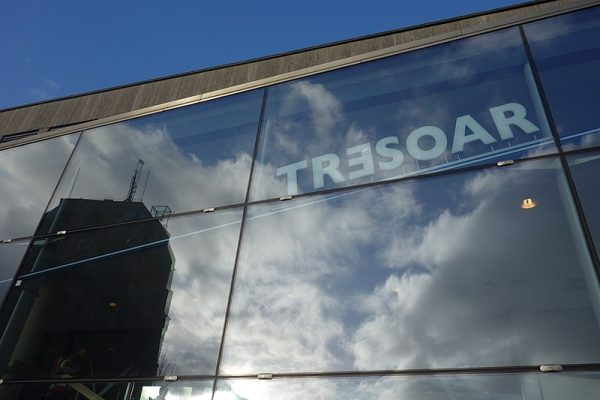 Het gebouw van Tresoar in Leeuwarden