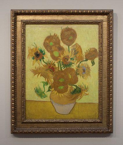 Zonnebloemen, Van Gogh